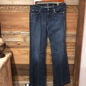 7 for All Mankind Dojo Dark Wash Jean 30